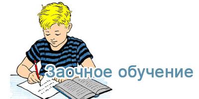 Заочное обучение (7-11 класс)